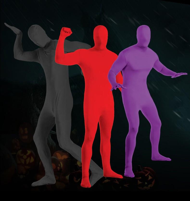 Костюм Человека невидимки вторая кожа 13 - Костюм Человека-невидимки, вторая кожа для взрослого - разные цвета