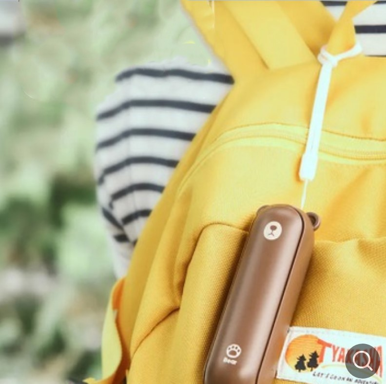 USB вентилятор складной портативный мини вентилятор с фонариком Jusi Bear 04 - USB-вентилятор складной, портативный мини-вентилятор с фонариком Jusi Bear
