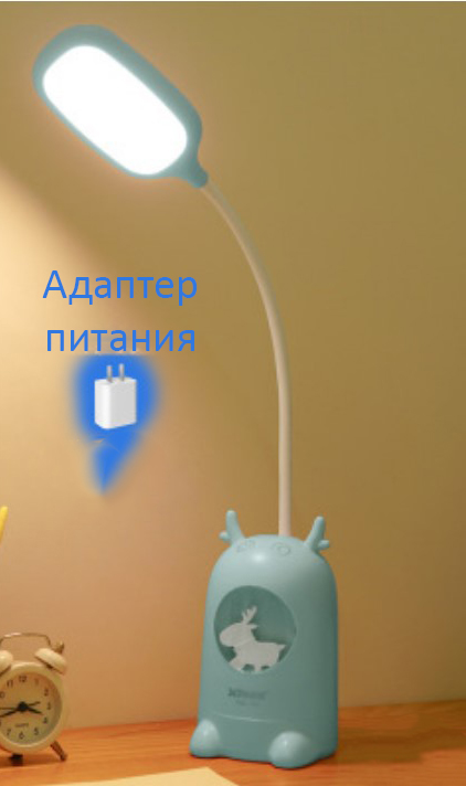Настольная лампа ночник светодиодный с оленем 15 - Настольная лампа-ночник светодиодный с оленем