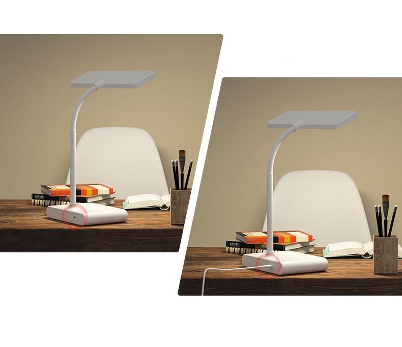 Настольная лампа светодиодная с аккумулятором и фильтром синего излучения 16 - Настольная лампа светодиодная с аккумулятором USB и фильтром синего излучения Oselia