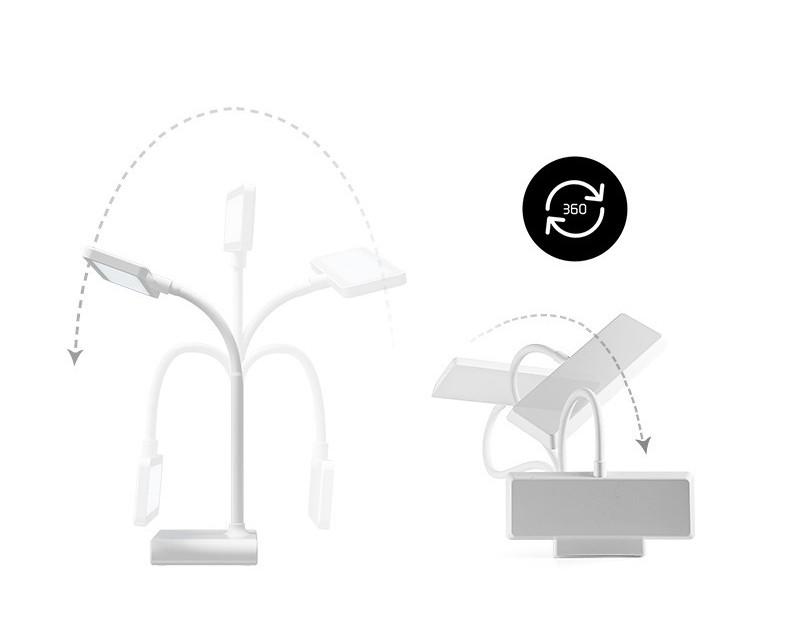 Настольная лампа светодиодная с аккумулятором и фильтром синего излучения 17 - Настольная лампа светодиодная с аккумулятором USB и фильтром синего излучения Oselia