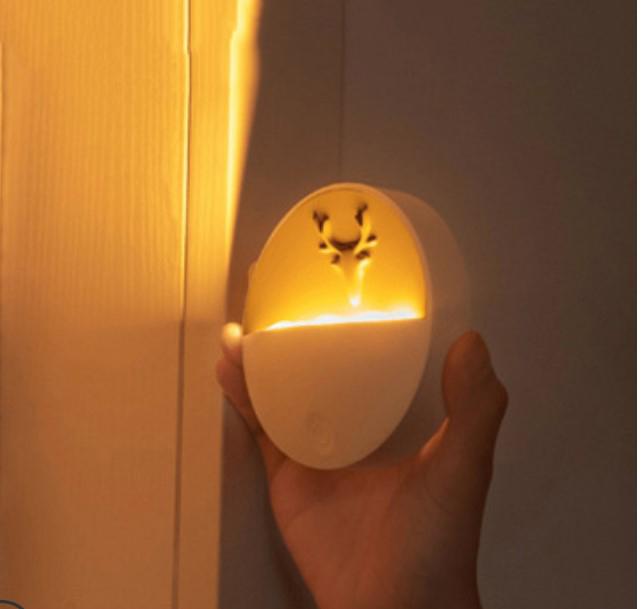 Светильник-ночник с отсеком для ароматерапии, USB-зарядка, 3 режима