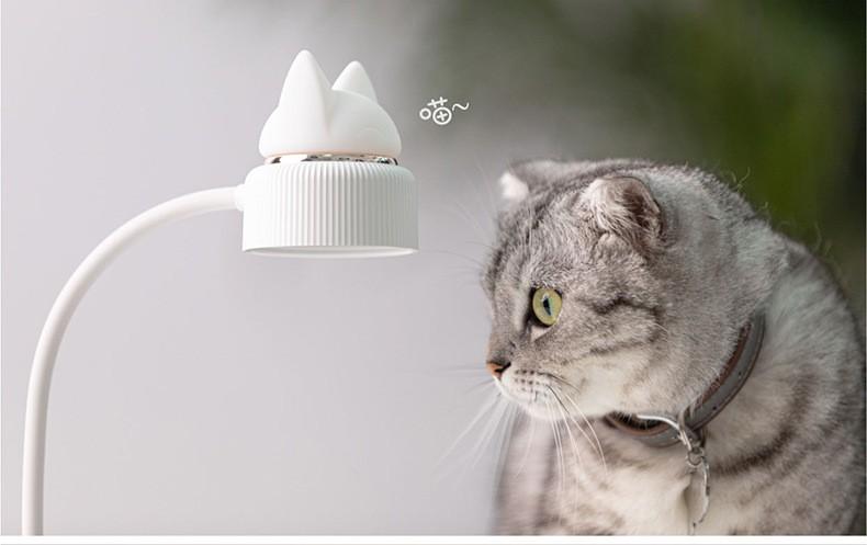 Светильник ночник CatLamp светодиодный 06 - Светильник-ночник CatLamp светодиодный, 2 источника света, батарея 1200 мАч