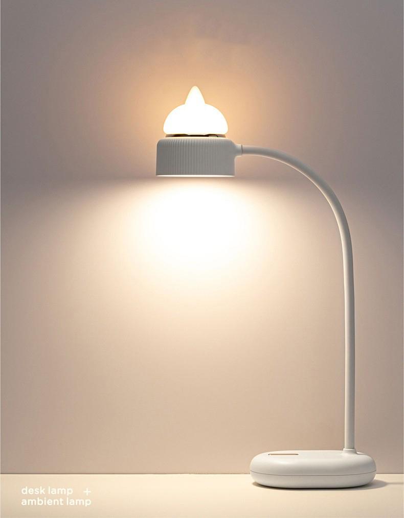 Светильник ночник CatLamp светодиодный 20 1 - Светильник-ночник CatLamp светодиодный, 2 источника света, батарея 1200 мАч