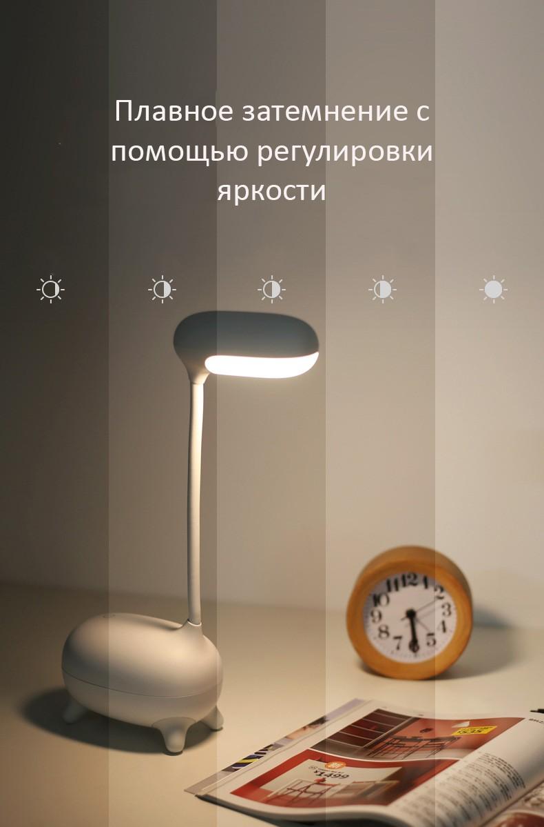 Светодиодная лампа Жираф гнущаяся аккумулятор 1200 мАч 08 - Светодиодная лампа Жираф, гнущаяся, аккумулятор 1200 мАч
