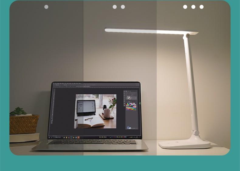 Складная настольная лампа регулируемая светодиодная с аккмулятором Schoolight 13 - Складная настольная лампа регулируемая, светодиодная, с аккмулятором Schoolight