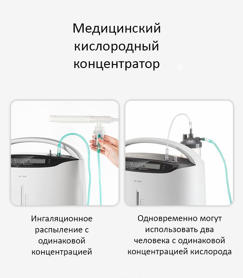 Медицинский кислородный концентратор 8F-5AW 0,5-5 л в минуту
