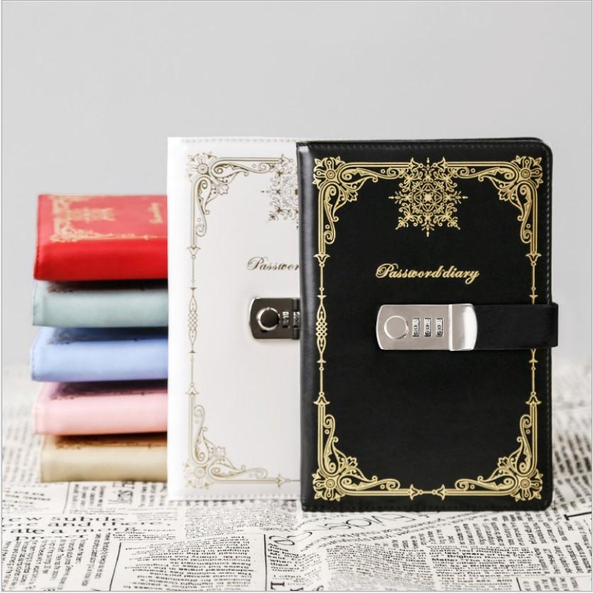 Подарочный блокнот на кодовом замке Beauty Note 02 - Подарочный блокнот на кодовом замке Beauty Note