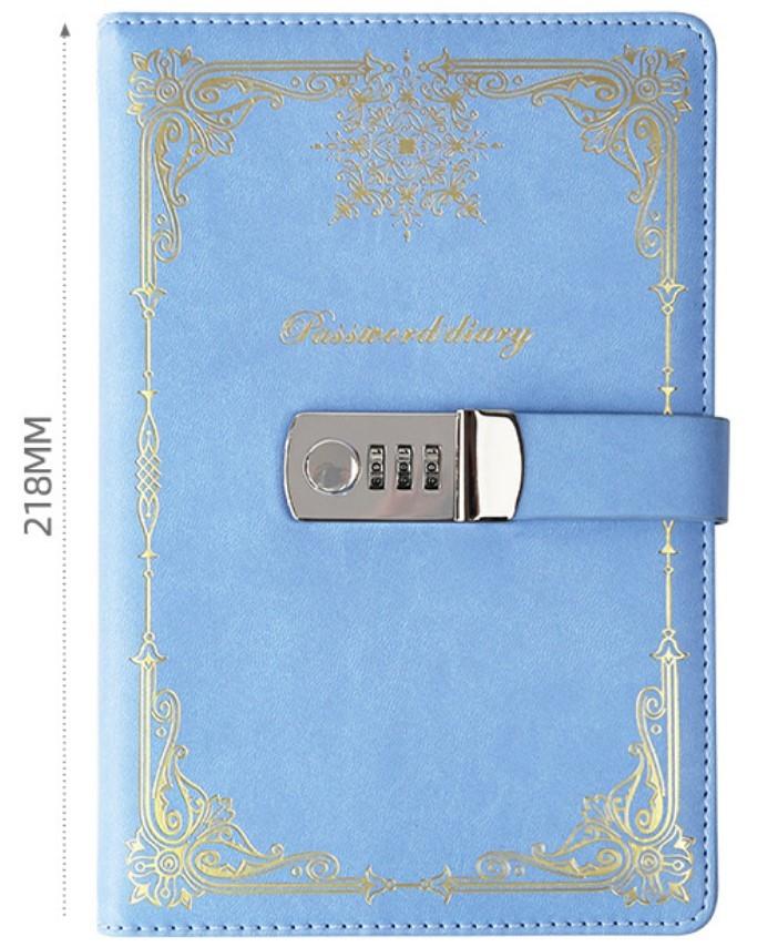 Подарочный блокнот на кодовом замке Beauty Note 06 - Подарочный блокнот на кодовом замке Beauty Note