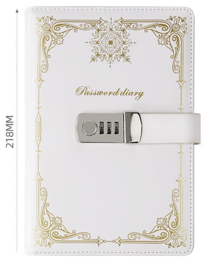 Подарочный блокнот на кодовом замке Beauty Note