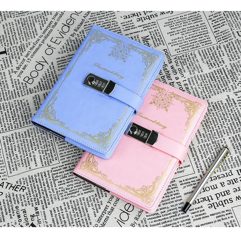 Подарочный блокнот на кодовом замке Beauty Note 15 - Подарочный блокнот на кодовом замке Beauty Note