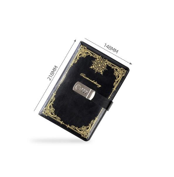 Подарочный блокнот на кодовом замке Beauty Note 19 - Подарочный блокнот на кодовом замке Beauty Note