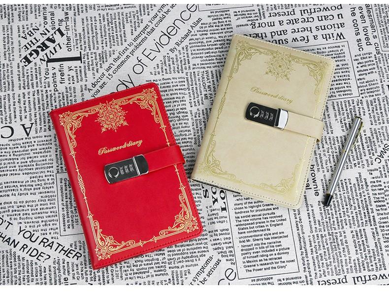 Подарочный блокнот на кодовом замке Beauty Note 20 - Подарочный блокнот на кодовом замке Beauty Note
