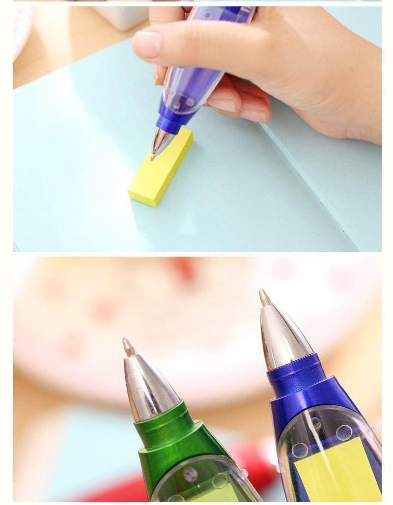 Ручка блокнот с фонариком ручка шпаргалка с бумагой внутри 12 - Ручка-блокнот с фонариком, ручка-шпаргалка с бумагой внутри