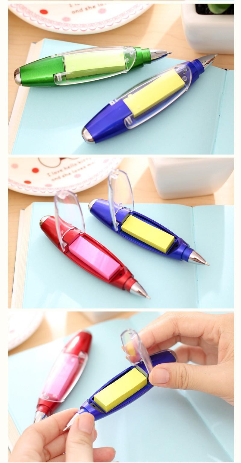 Ручка блокнот с фонариком ручка шпаргалка с бумагой внутри 17 - Ручка-блокнот с фонариком, ручка-шпаргалка с бумагой внутри