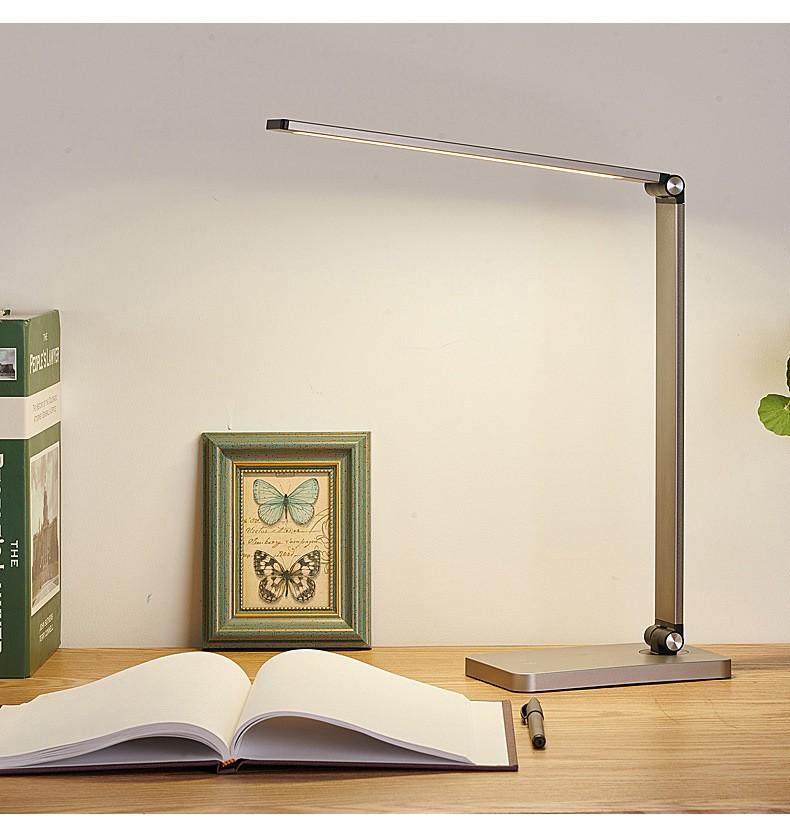 Светодиодная лампа складная зарядка беспроводная 05 - Светодиодная лампа складная + зарядка беспроводная электромагнитная
