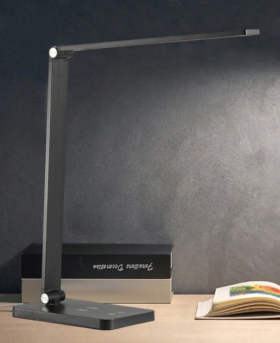 Светодиодная лампа складная + зарядка беспроводная электромагнитная