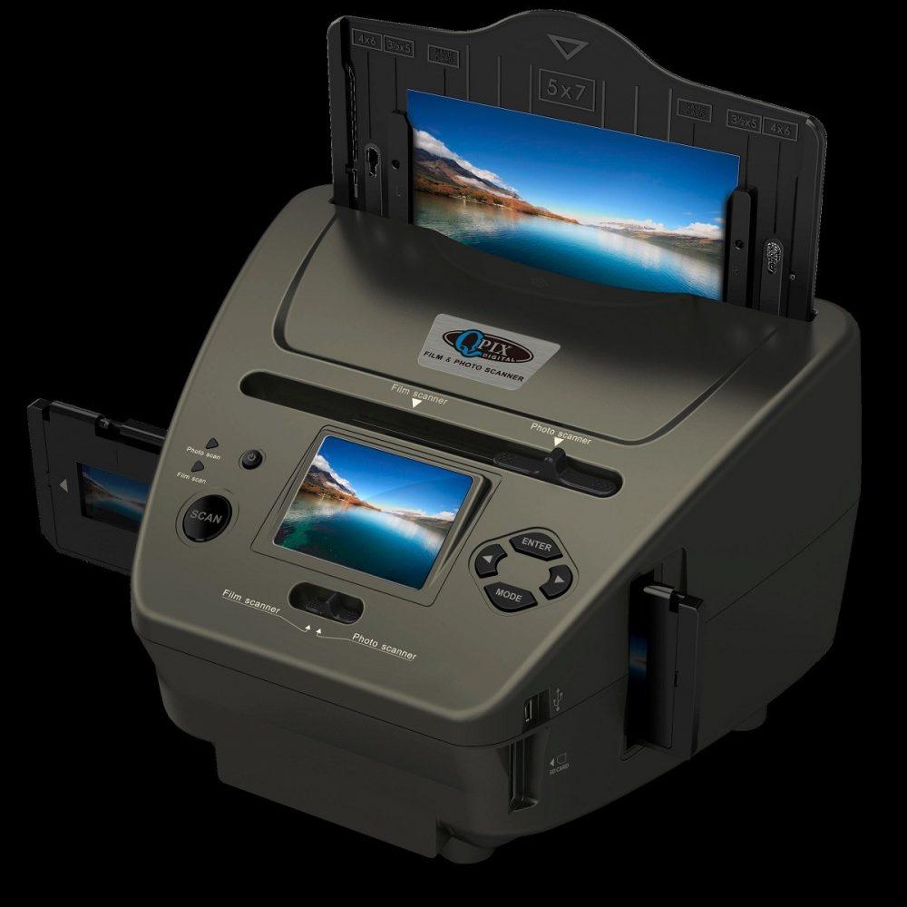 Сканер фотопленки QPix PS970H с USB, поддержка SD-карт до 128 Мб