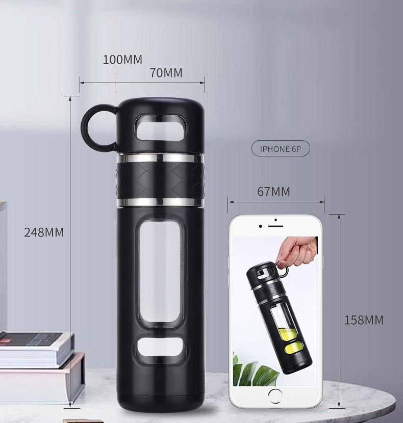 инфузер большой емкости термос 520 мл Tea Spills 11 - Термочашка-инфузер большой емкости, термос 520 мл Tea Spills