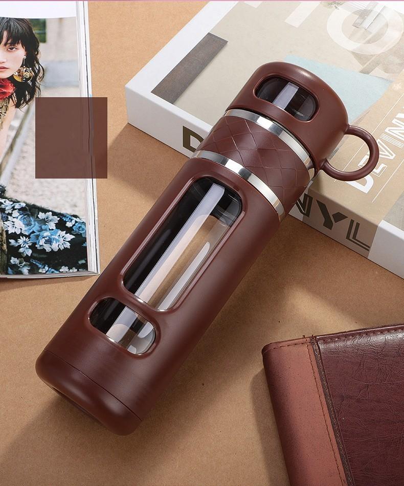 инфузер большой емкости термос 520 мл Tea Spills 13 - Термочашка-инфузер большой емкости, термос 520 мл Tea Spills
