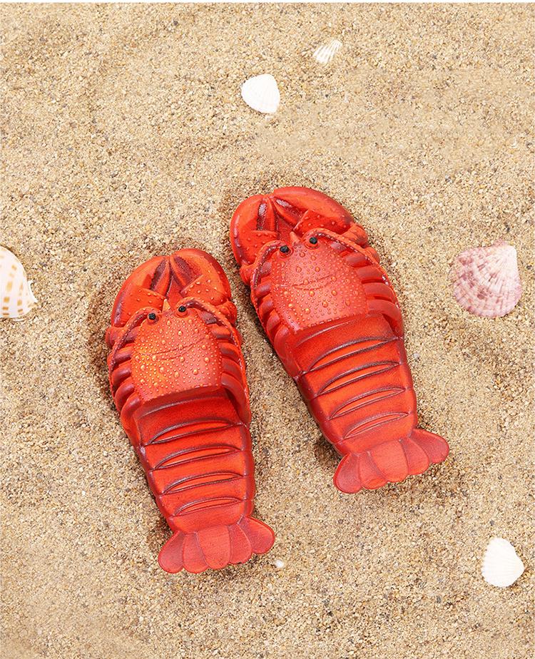крабы пляжные шлепанцы в форме крабов 14 - Шлепки-крабы, пляжные шлепанцы в форме крабов, тапочки-лобстеры все размеры