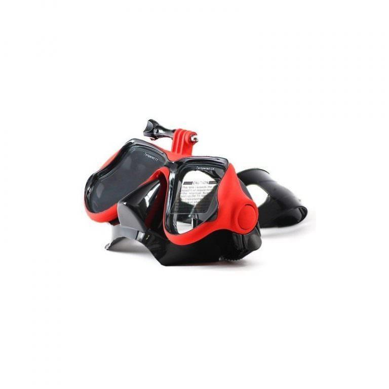 10948 - Маска для дайвинга с креплением для камер GoPro HERO4 /3+ /3 /2 /1