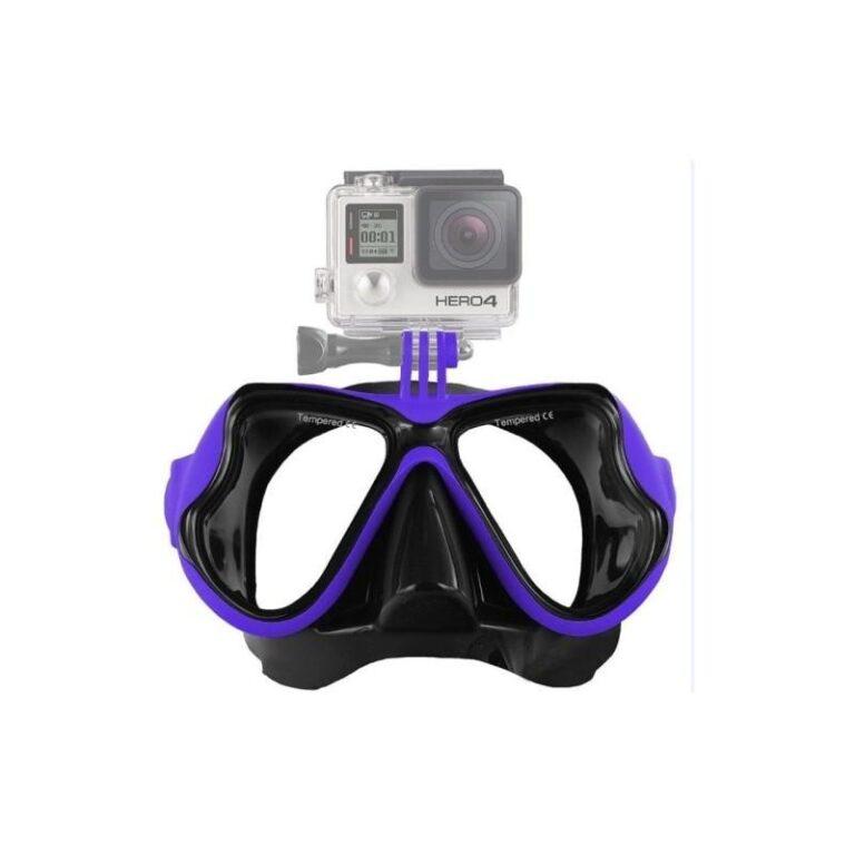 10949 - Маска для дайвинга с креплением для камер GoPro HERO4 /3+ /3 /2 /1
