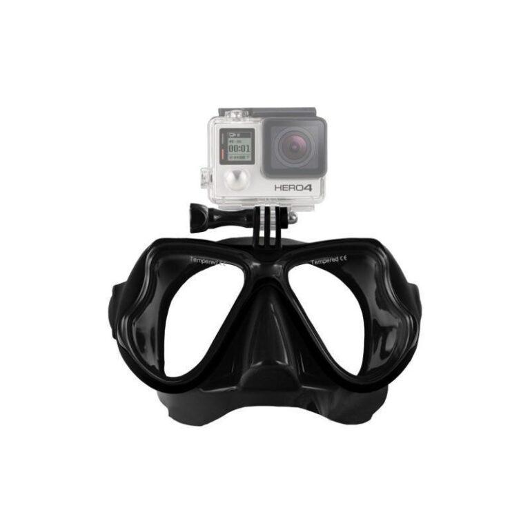 10953 - Маска для дайвинга с креплением для камер GoPro HERO4 /3+ /3 /2 /1