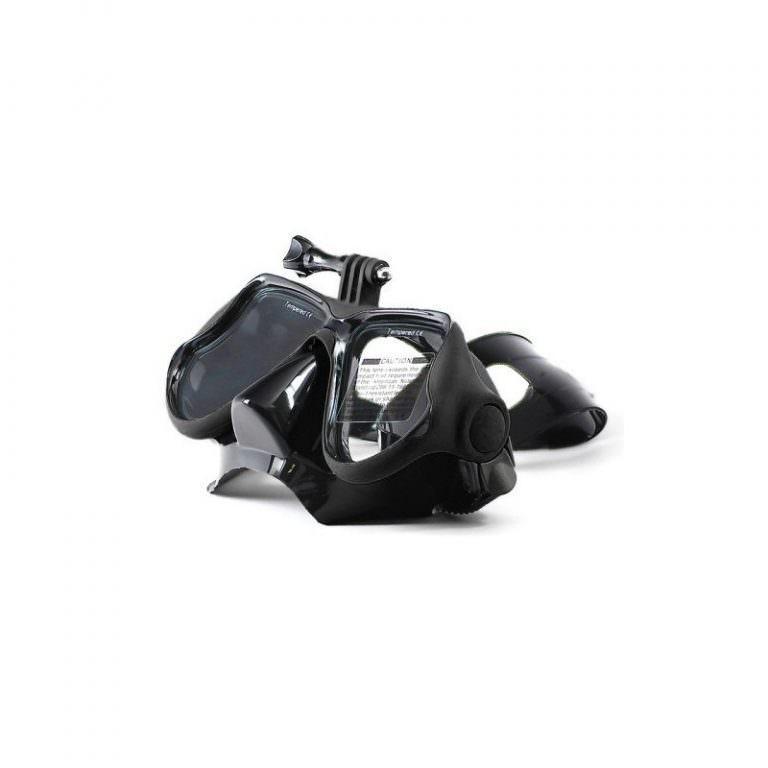 10954 - Маска для дайвинга с креплением для камер GoPro HERO4 /3+ /3 /2 /1