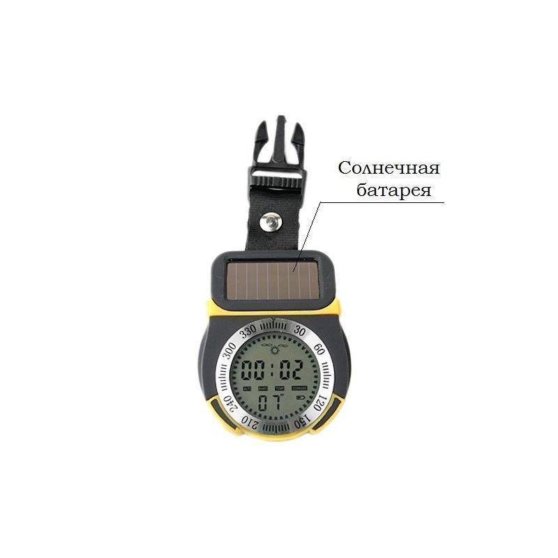 Многофункциональный альтиметр 6 в 1 – высотометр, компас, барометр, термометр, часы, метеостанция 192036