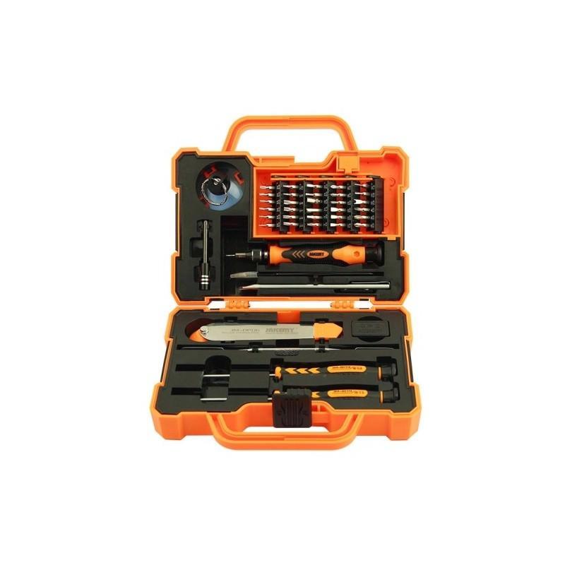 Набор инструментов для ремонта электроники и бытовых приборов 43 в 1 JAKEMY JM-8139