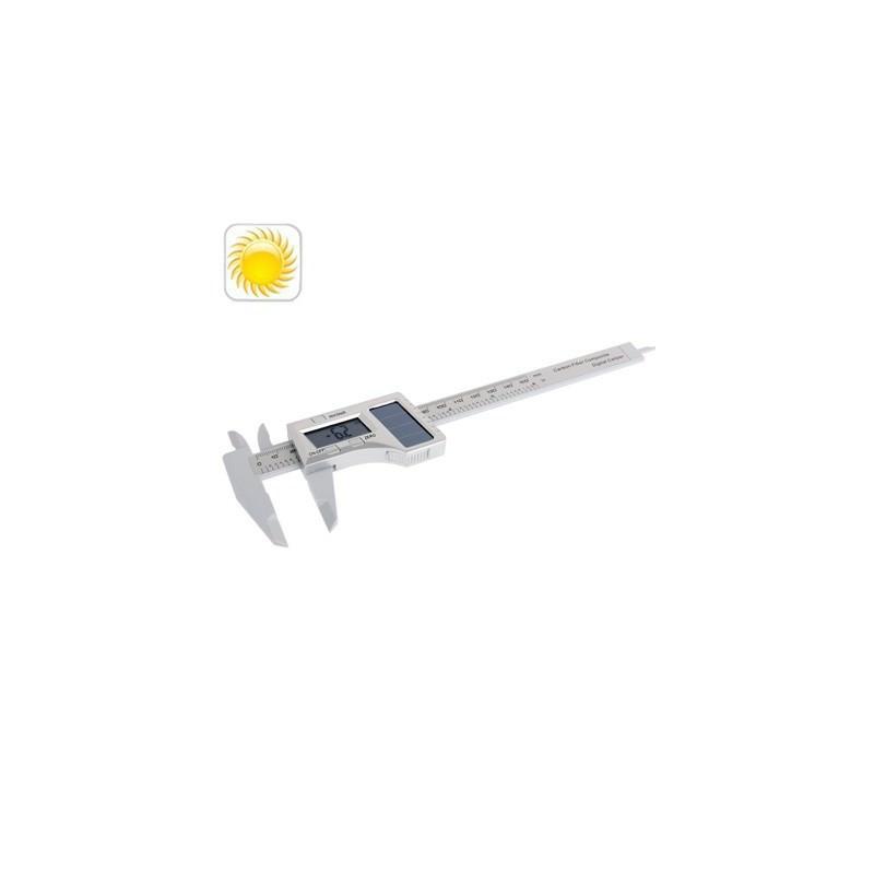 Цифровой штангенциркуль 150мм с солнечной батареей и ЖК-дисплеем
