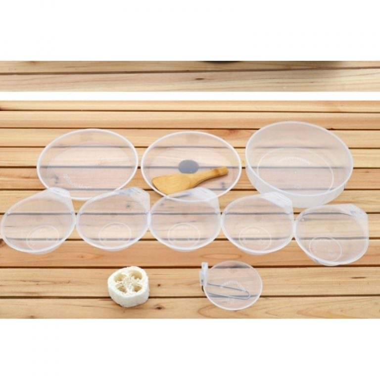 11497 - Набор походной антипригарной посуды на 5 человек DS-500: 15 предметов, анодированный алюминий