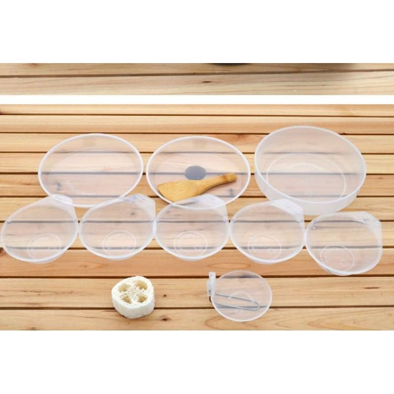 Набор походной антипригарной посуды на 5 человек DS-500: 15 предметов, анодированный алюминий 192514