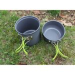 11507 thickbox default - Набор посуды для отдыха и туризма 2 в 1 - анодированный алюминий, складные ручки