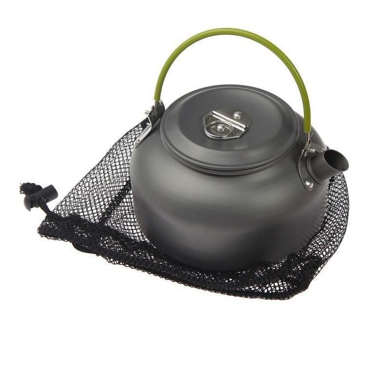 Портативный чайник для кемпинга – алюминиевый сплав, складные ручки, 0.8 л 192644