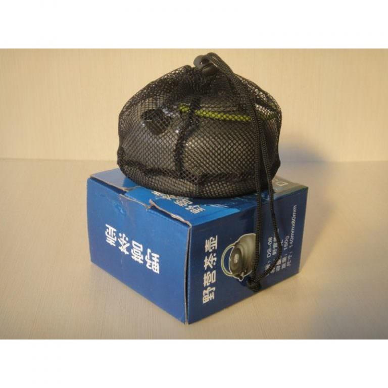 11658 - Портативный чайник для кемпинга - алюминиевый сплав, складные ручки, 0.8 л