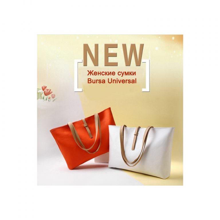 11671 - Вместительная женская сумочка на каждый день Bursa Universal