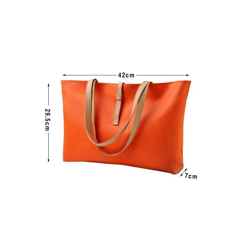 Вместительная женская сумочка на каждый день Bursa Universal 192659