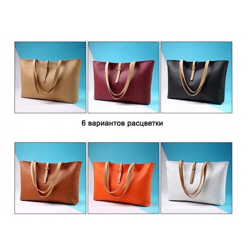 Вместительная женская сумочка на каждый день Bursa Universal 192660