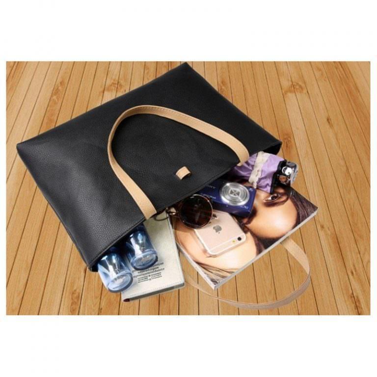 11674 - Вместительная женская сумочка на каждый день Bursa Universal