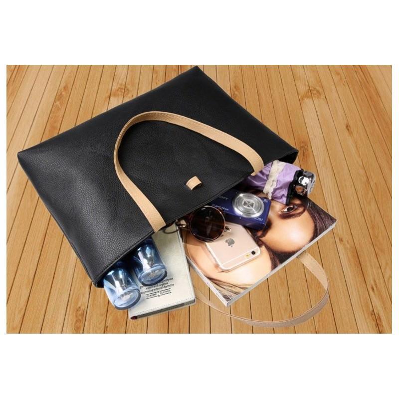 Вместительная женская сумочка на каждый день Bursa Universal 192661