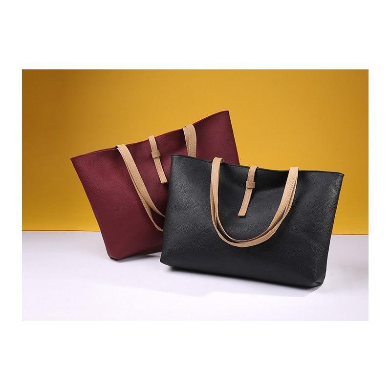 Вместительная женская сумочка на каждый день Bursa Universal 192673