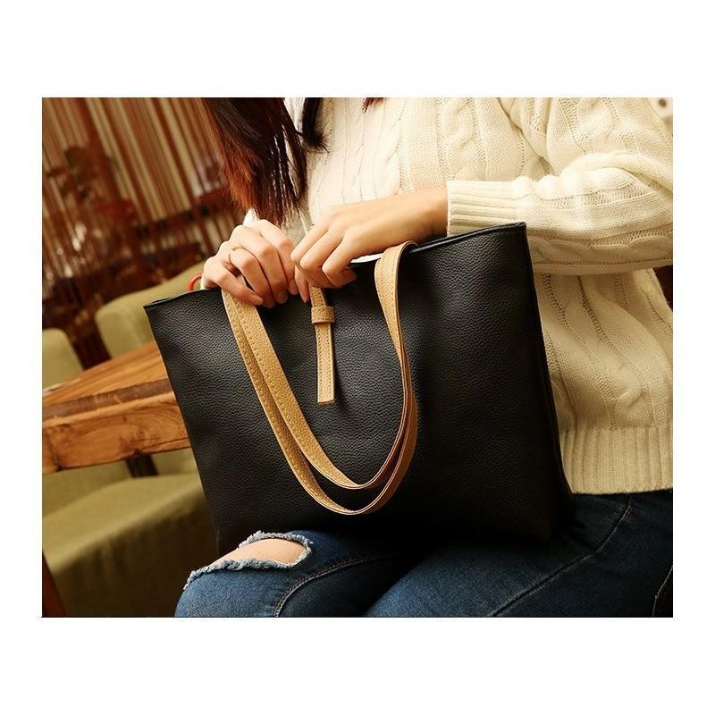 Вместительная женская сумочка на каждый день Bursa Universal 192674