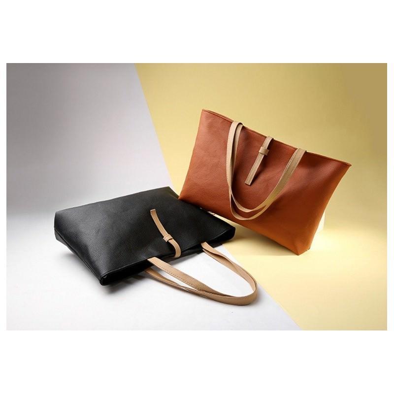 Вместительная женская сумочка на каждый день Bursa Universal 192676