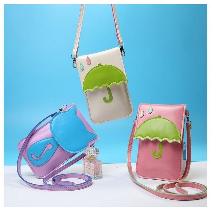 Женская мини-сумочка Bursa Festa – магнитная защелка, съемный ремешок, 3 отделения
