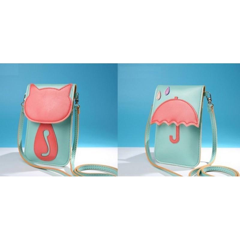 Женская мини-сумочка Bursa Festa – магнитная защелка, съемный ремешок, 3 отделения 192763