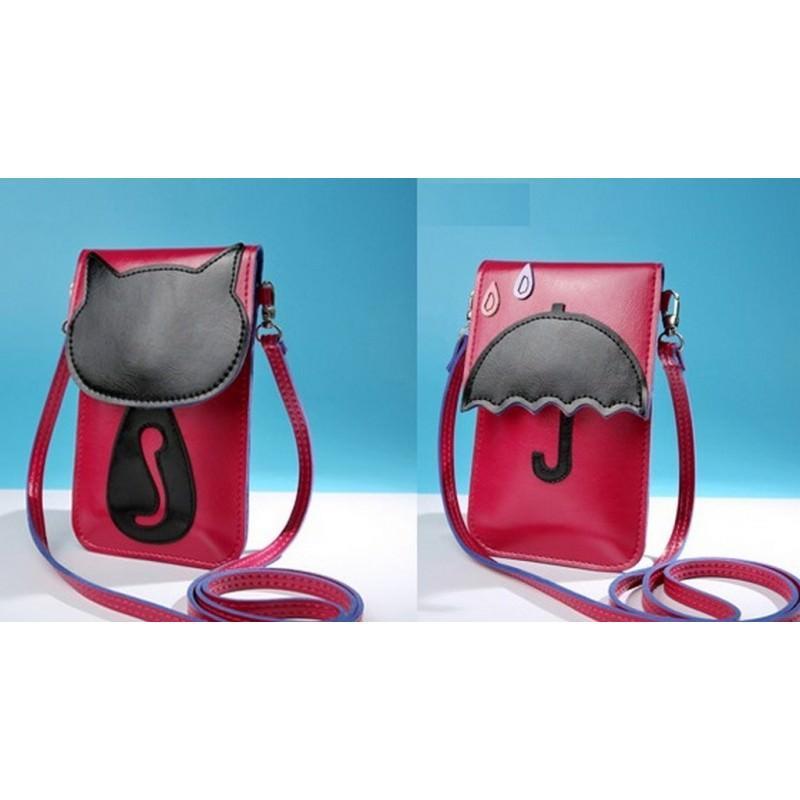 Женская мини-сумочка Bursa Festa – магнитная защелка, съемный ремешок, 3 отделения 192766