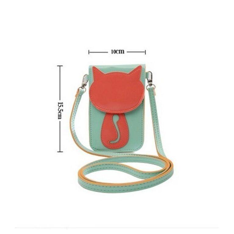 11799 - Яркая микро-сумочка Bursa Festa Child для денег и телефона - магнитная защелка, съемный ремешок, 3 отделения