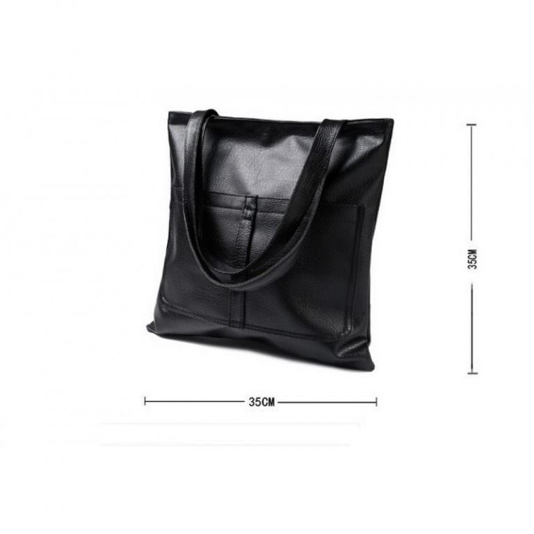 11867 - Сумка-мешок Bursa Torba - 5 модных расцветок, 2 внешних кармана